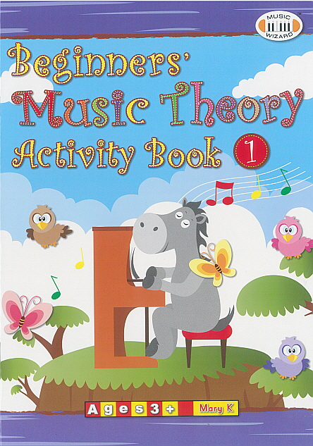 Beginners' Music Theory Activity Book 1
