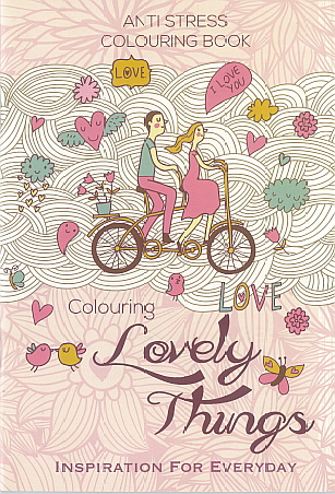 Adult Colouring Book - Lovely Things