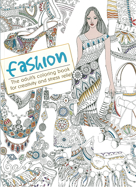 Adult Colouring Book - Fashion