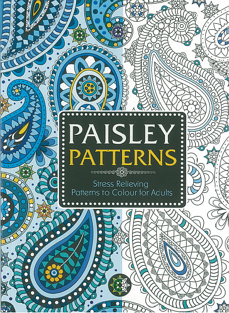 Adult Colouring Book - Paisley Patterns