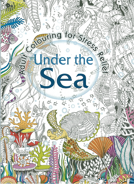 Adult Colouring Book - Under the Sea