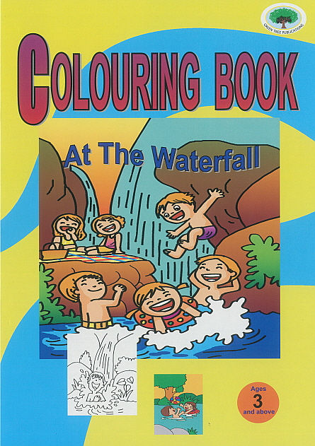 Colouring Book - At The Waterfall