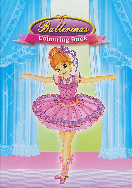 Colouring Book - Ballerinas