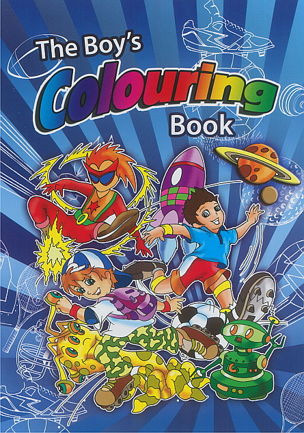 Colouring Book - Boy's