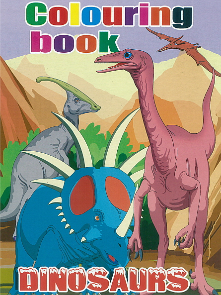 Colouring Book - Dinosaurs 3
