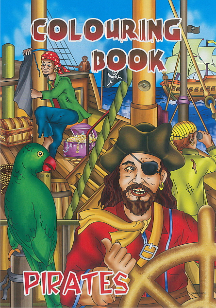 Colouring Book - Pirates 2
