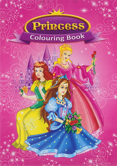 Colouring Book - Princess 3