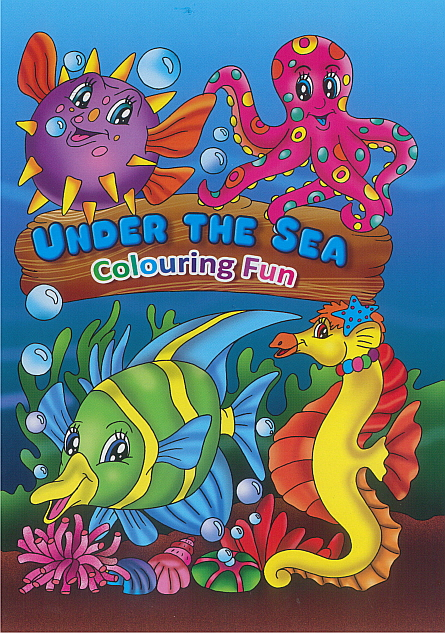 Colouring Book - Under the Sea