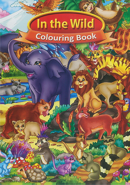 Colouring Book - In the Wild
