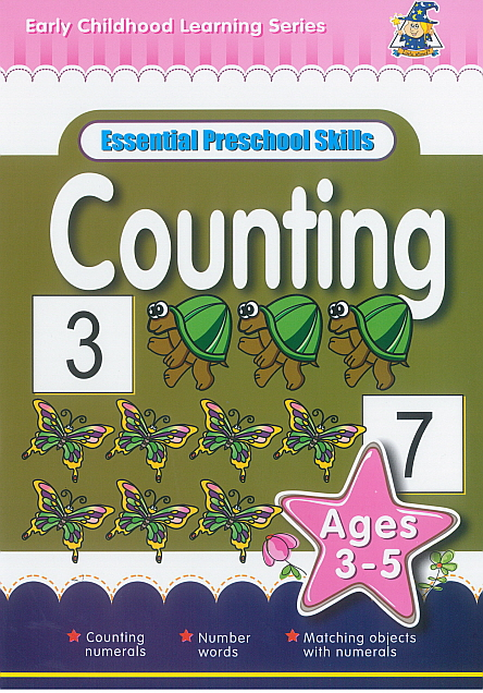 Workbook - Essential Preschool Skills Counting