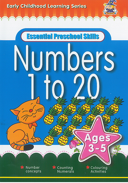 Workbook - Essential Preschool Skills Numbers 1 to 20