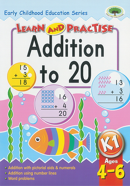 Workbook - Learn and Practise Addition to 20