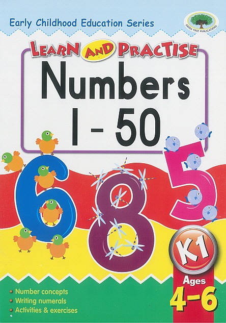 Workbook - Learn and Practise Number to 50
