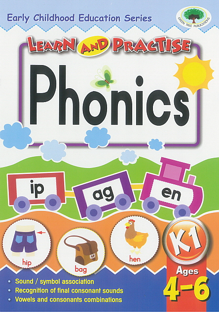 Workbook - Learn and Practise Phonics K1