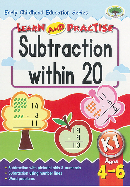 Workbook - Learn and Practise Subtraction with 20