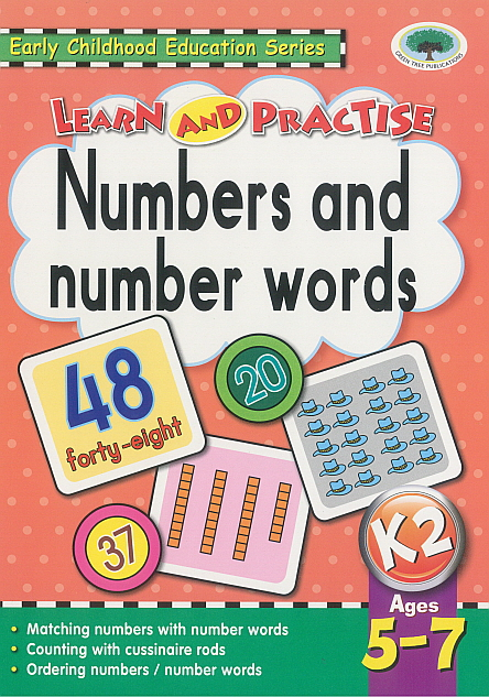 Workbook - Learn and Practise Numbers and number workds