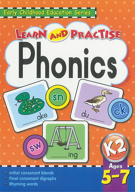 Workbook - Learn and Practise Phonics K2
