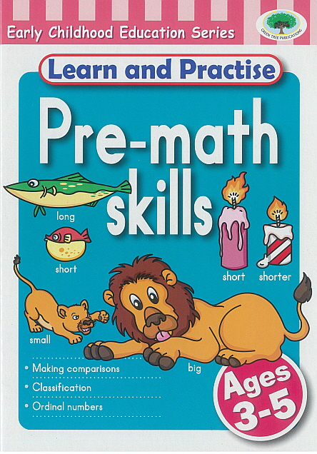 Workbook - Learn and Practise Pre-math skills