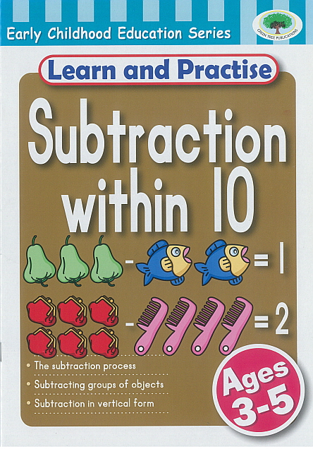 Workbook - Learn and Practise Subtraction with 10