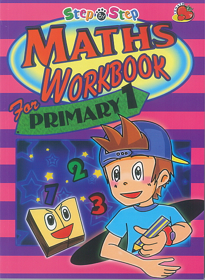 Step-By-Step Maths Workbook for Primary 1