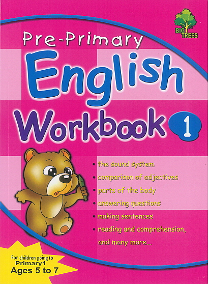 Pre-Primary English Workbook 1