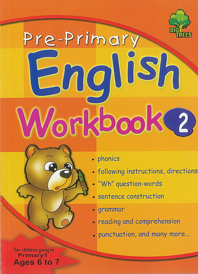 Pre-Primary English Workbook 2