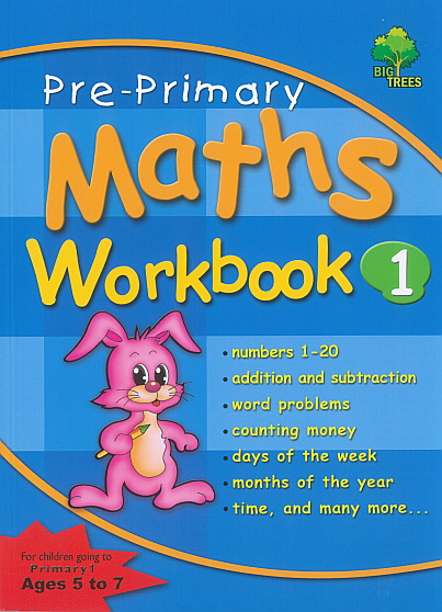 Pre-Primary Maths Workbook 1