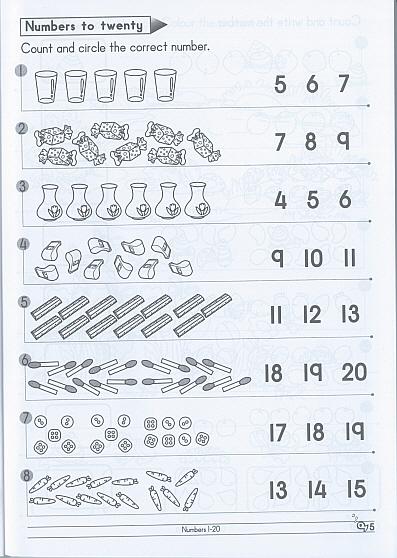 Pre-Primary Maths Workbook 1 [CBPPM1] - $4.00 : GOMALL!, All Of GOM
