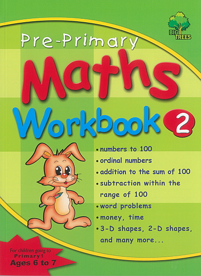 Pre-Primary Maths Workbook 2