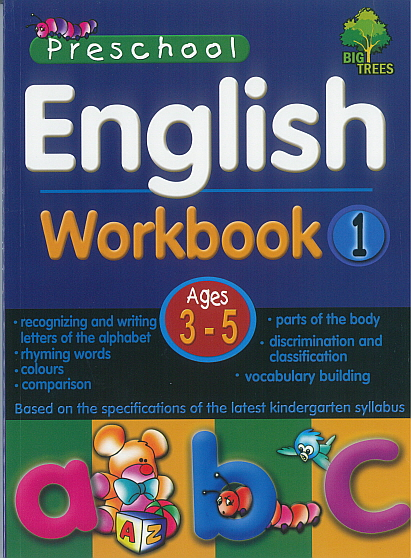 Pre-School English Workbook 1