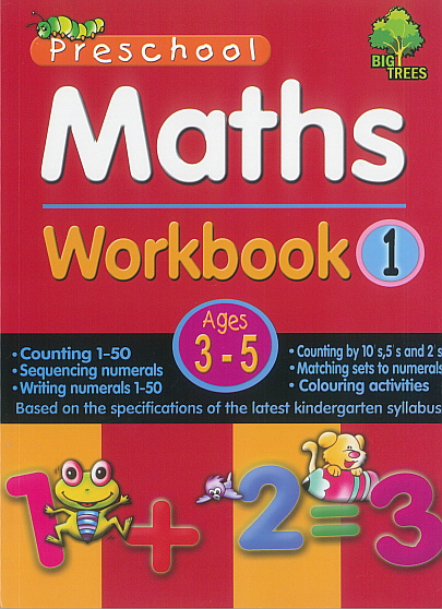 Pre-School Maths Workbook 1