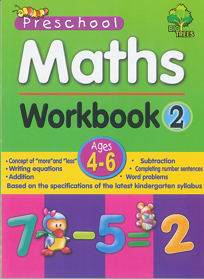 Pre-School Maths Workbook 2