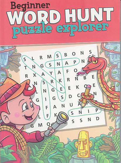 Biginner Word Hunt puzzle explorer