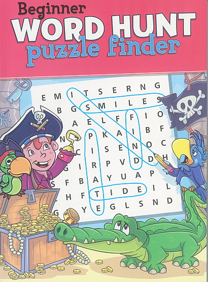 Biginner Word Hunt puzzle finder