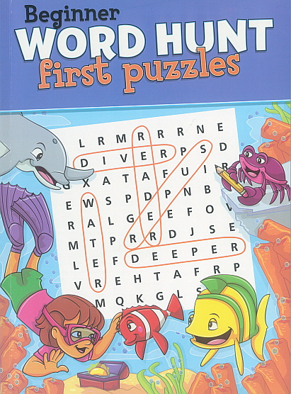 Biginner Word Hunt first puzzles