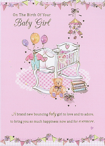 Deluxe On The Birth Of Your Baby Girl
