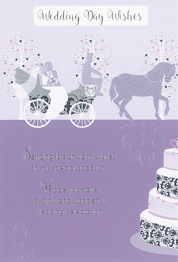 Deluxe Wedding Day Wishes