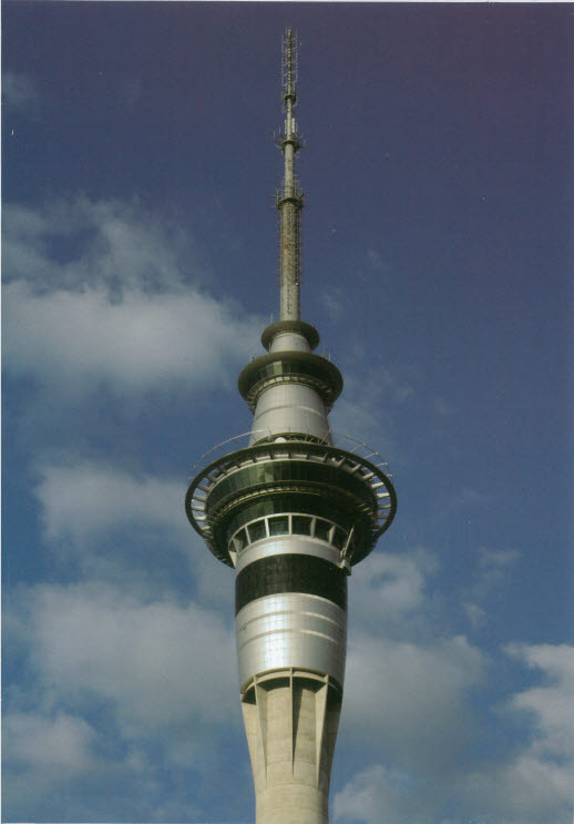 Kiwiana Card Sky Tower