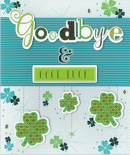 NQS Goodbye & GOOD LUCK