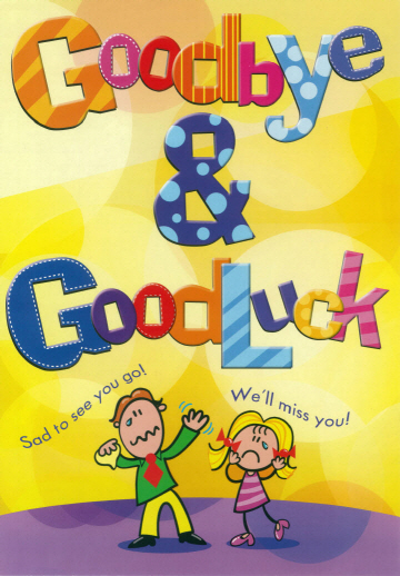 Whoppa Card Goodbye & Good Luck