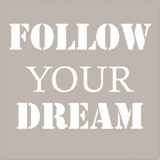 Serviette FOLLOW YOUR DREAM