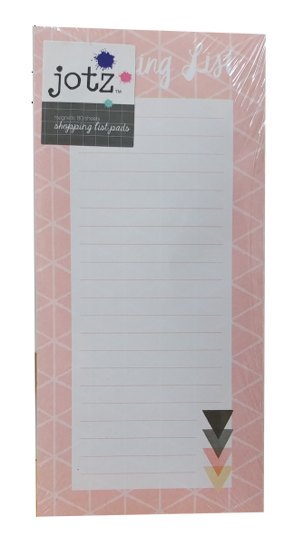 Jotz Shopping List Pad