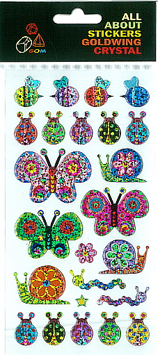 Sticker Crystal Bees