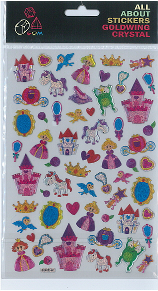 Sticker Crystal Princess