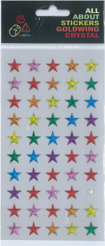 Sticker Crystal Star