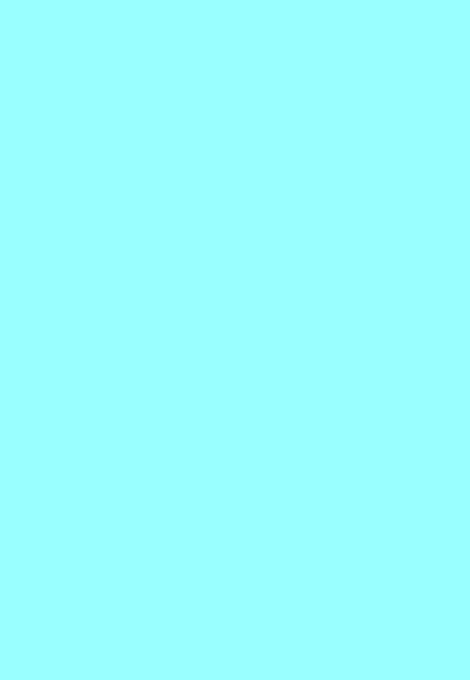 Folded Wrapping Paper Solid Colour Baby Blue