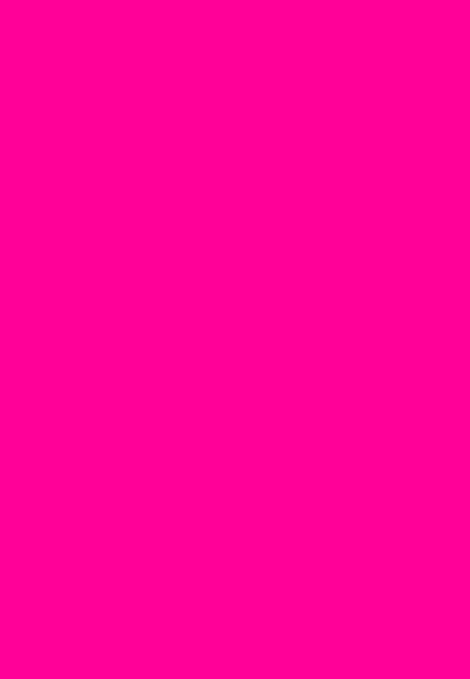 Folded Wrapping Paper Solid Colour Hot Pink