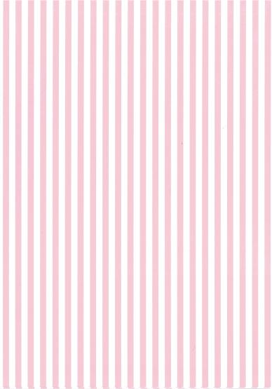 Folded Wrapping Paper Stripe Baby Pink