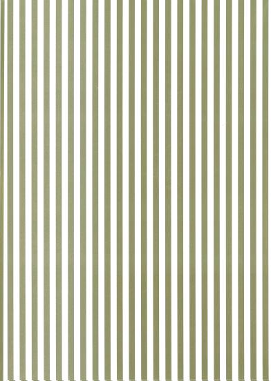 Folded Wrapping Paper Stripe Gold