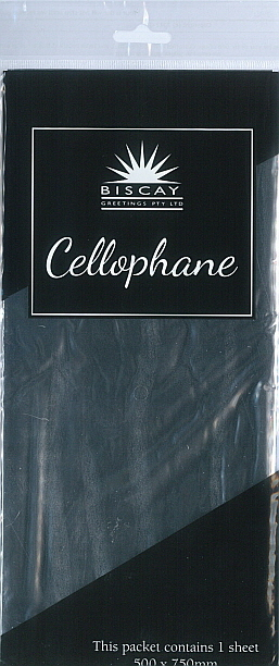 Cello Wrap (500x750mm) Silver